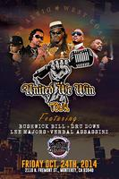 UNITED WE WIN TOUR Featuring Bushwick Bill DRU DOWN -...