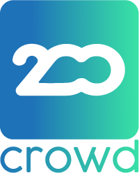 Two Hundred Crowd logo