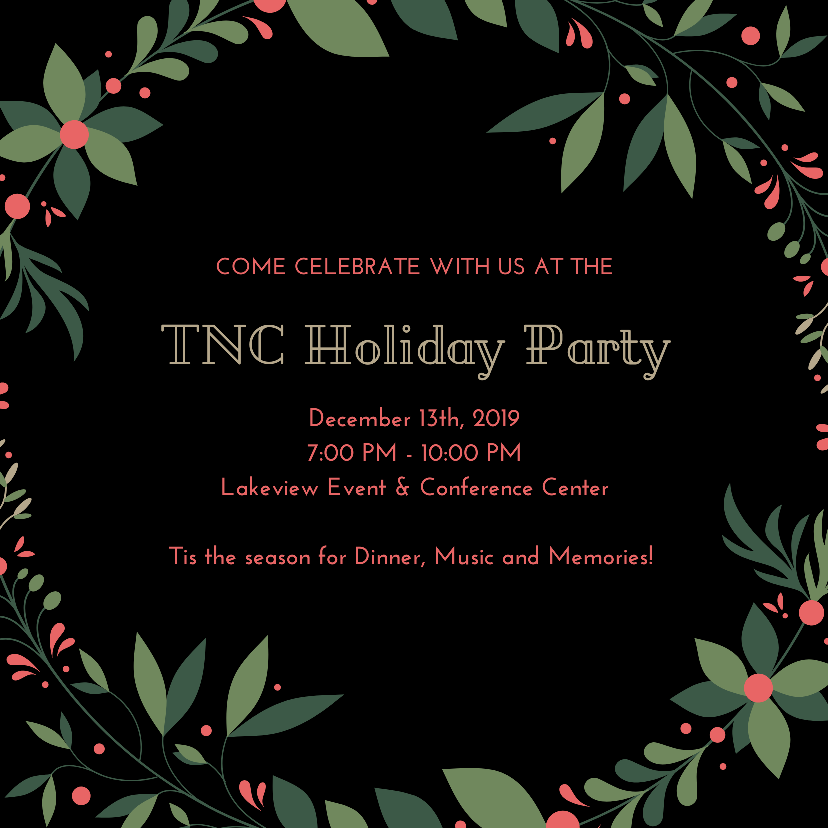 TNC Holiday Party