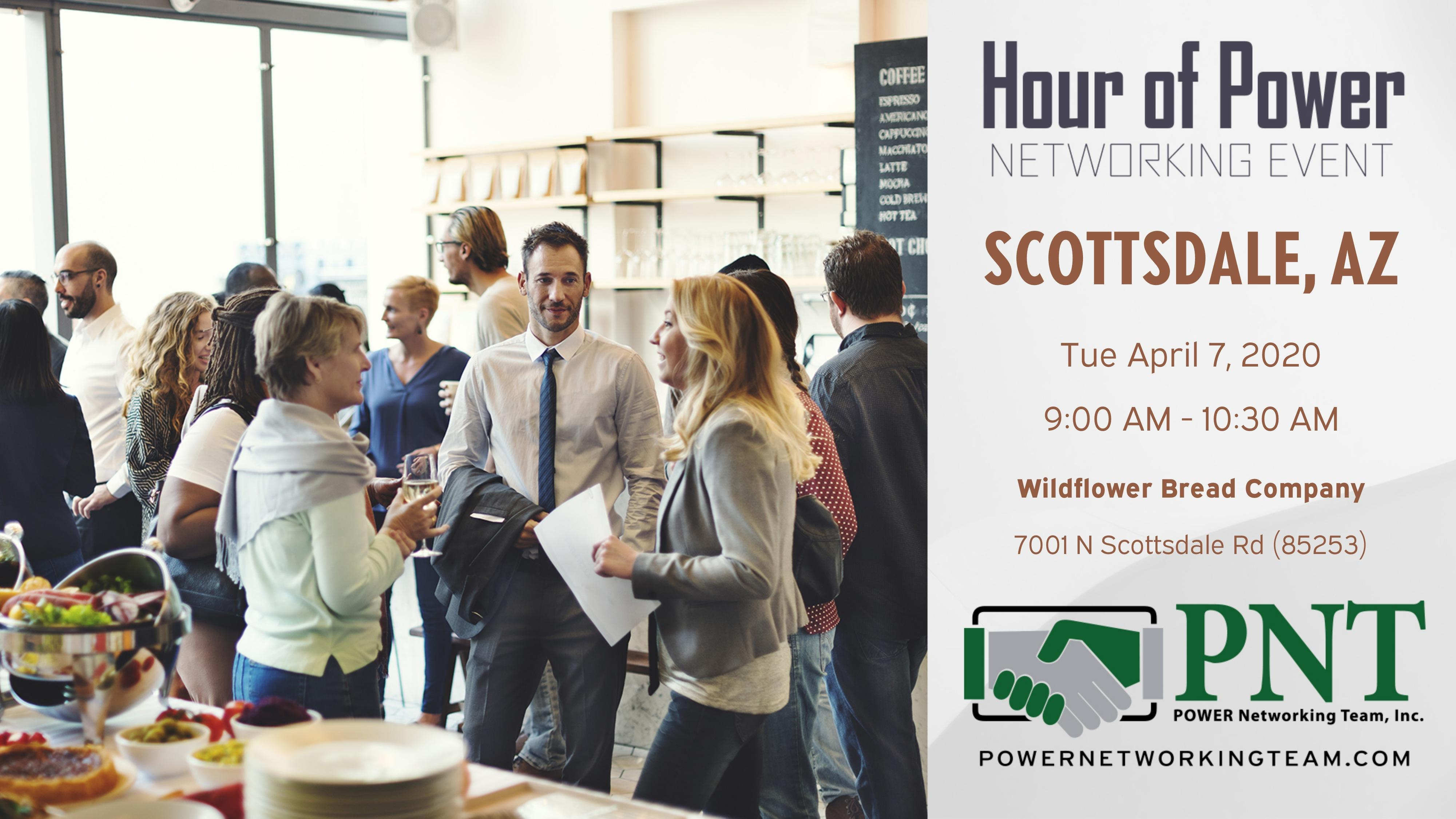 04/07/20 - PNT Scottsdale Central - Hour of Power Networking Event