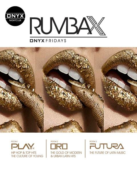 Rumba X at Onyx Room Discounted Guestlist - 12/13/2019