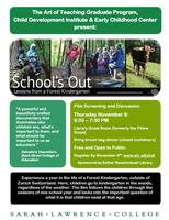 School's Out: Lessons from a Forest Kindergarten...