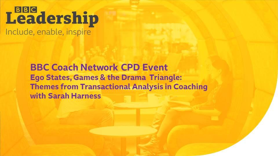 BBC Coach Network CPD Event