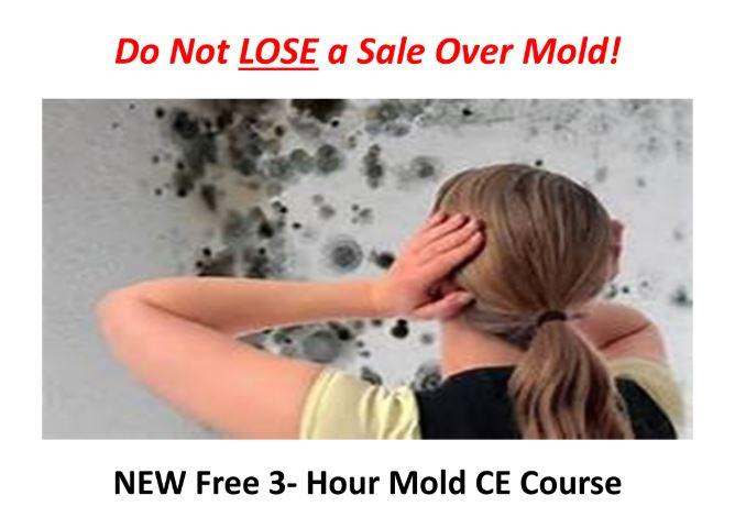 Free 3 Hour Mold CE Course