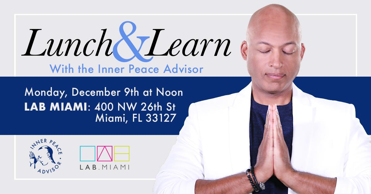Lunch & Learn with The Inner Peace Advisor