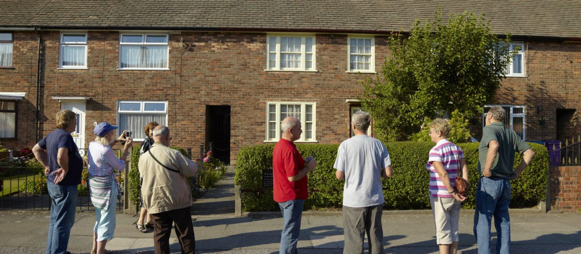 Beatles' Childhood Homes Tour - Jurys Inn pickup - April 2020