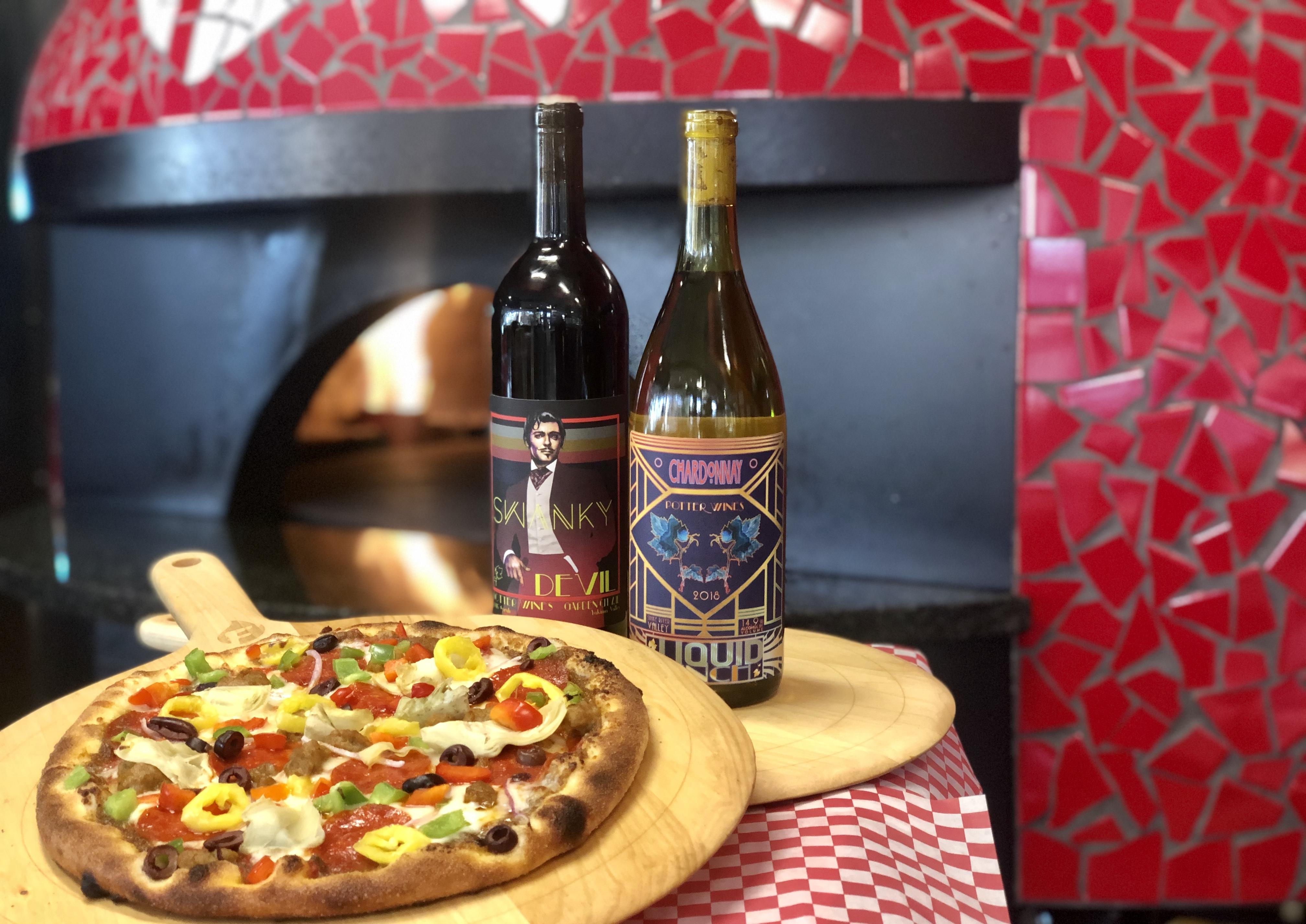 Pizza and Potter Wines Tasting Night