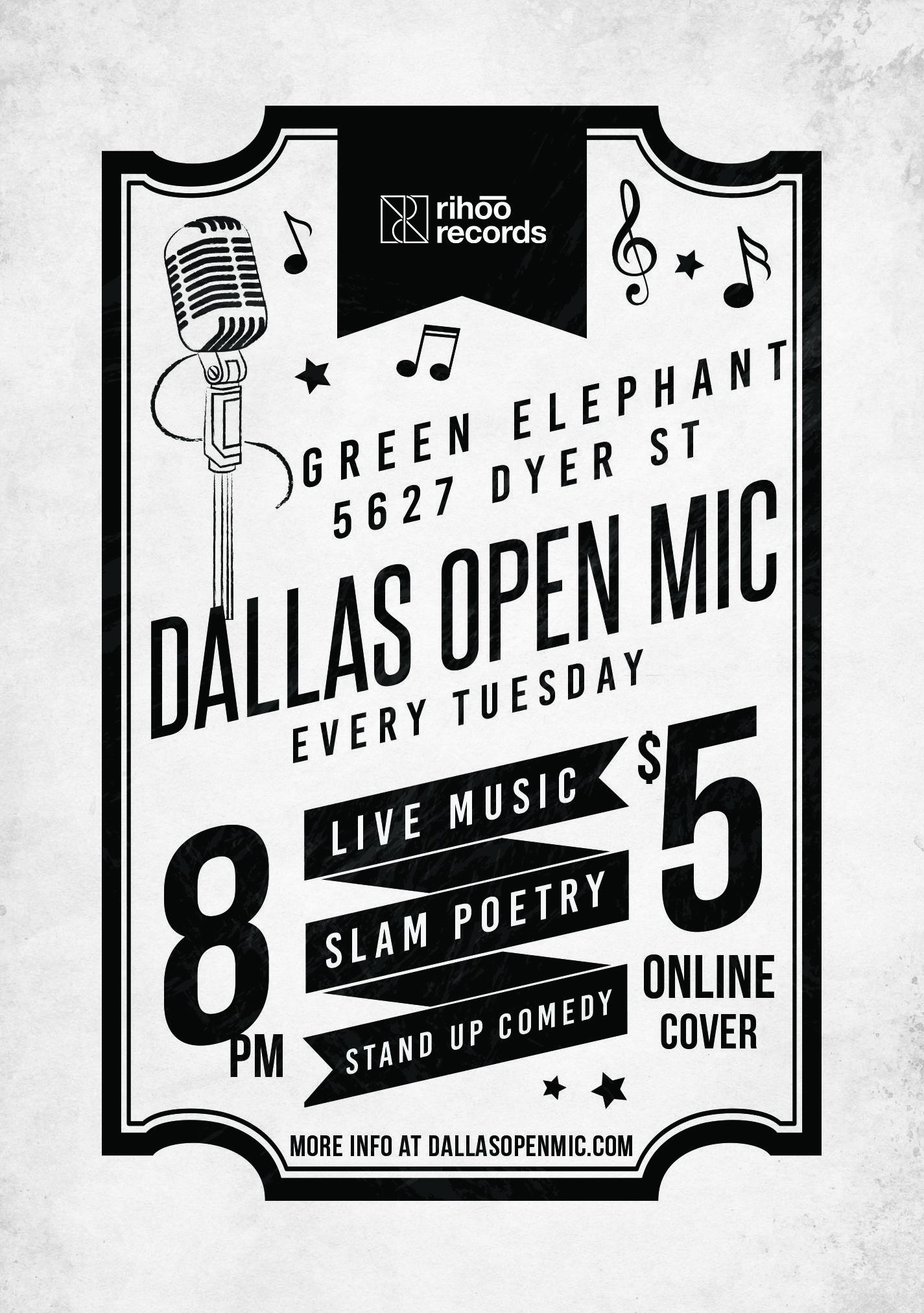 Dallas Open Mic