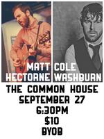 Cole Washburn & Matt Hectorne Live At The Common House