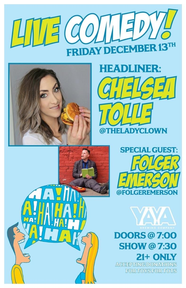 Comedy Night w/ Chelsea Tolle