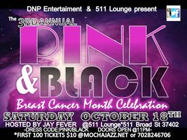 Pink And Black Breast Cancer Celebration