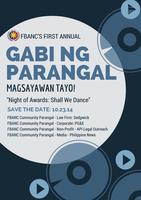 FBANC's first annual Gabi ng Parangal: Magsayawan...