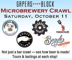 Gapers Block Microbrewery Crawl