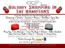 CC Events Holiday Shopping in the Hamptons