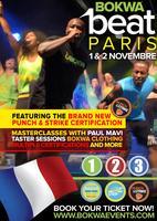 Bokwa BEAT France (Paris, 1st & 2nd November)