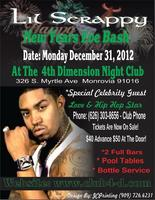 Lil Scrappy's New Years Eve Bash