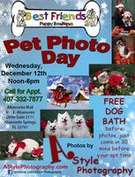 Pet Photo Day & Free Dog Bath