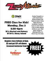 FREE Zumbatomic Class!