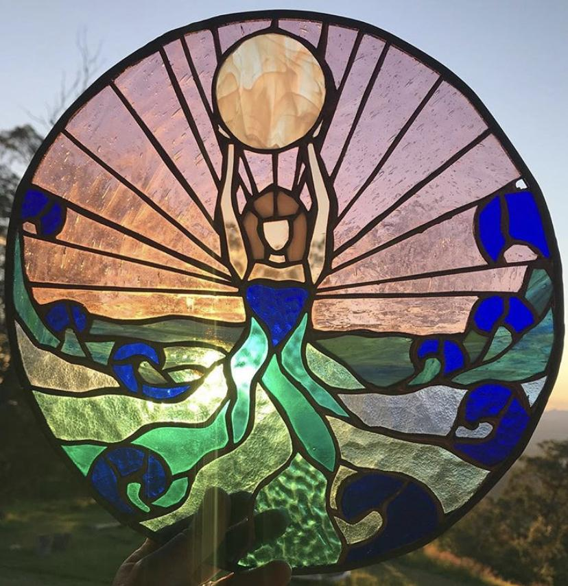 Stained Glass Copper Foil for Beginners 6 Week Course Wednesdays 4pm - 6pm
