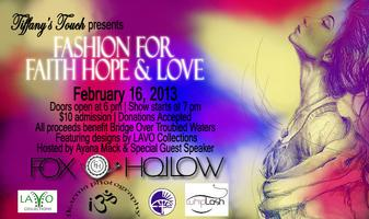 Fashion for FAITH*HOPE*LOVE