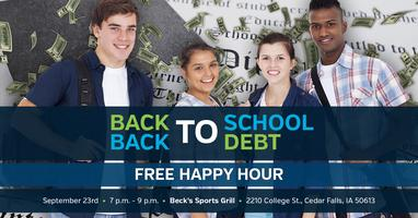 Back to School, Back to Debt - Cedar Falls, Iowa