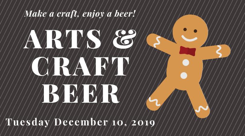 Arts & Craft Beer (Cookie Decorating)