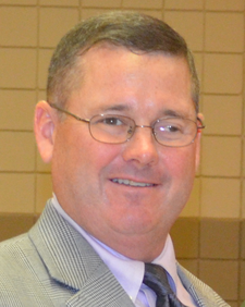 David Burrow, President logo