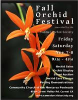 FALL ORCHID FESTIVAL