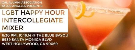 LGBT Happy Hour and Inter-collegiate Mixer