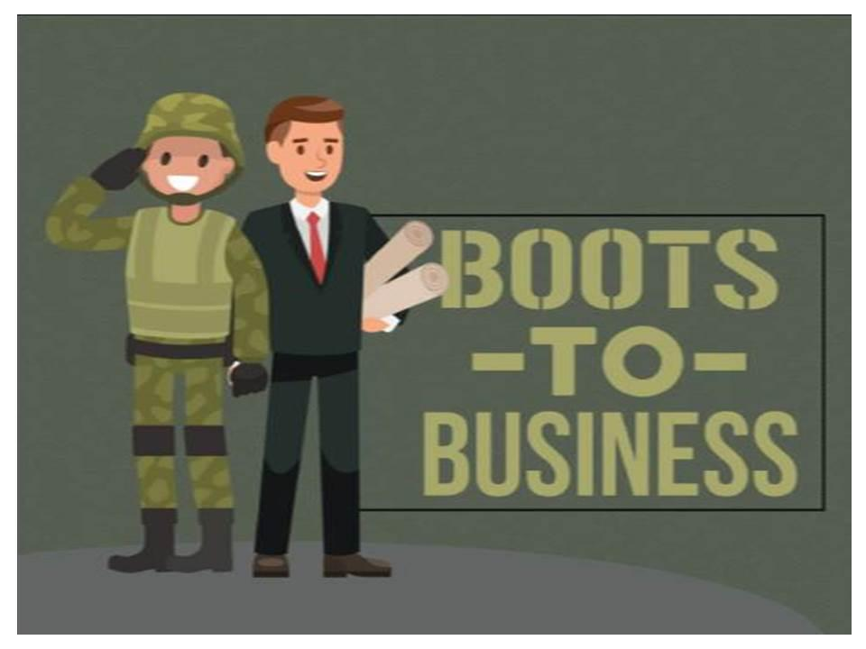 Boots to Business: Entrepreneurship Workshop