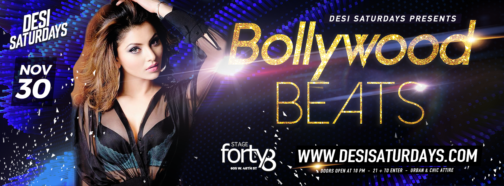 Urban Desi Party @ Stage48 NYC - A Weekly Saturday Night Party