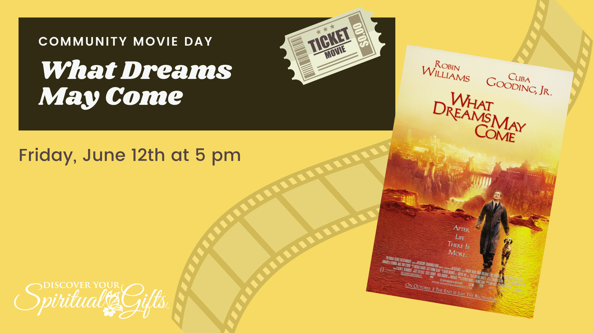 Community Movie Night: What Dreams May Come