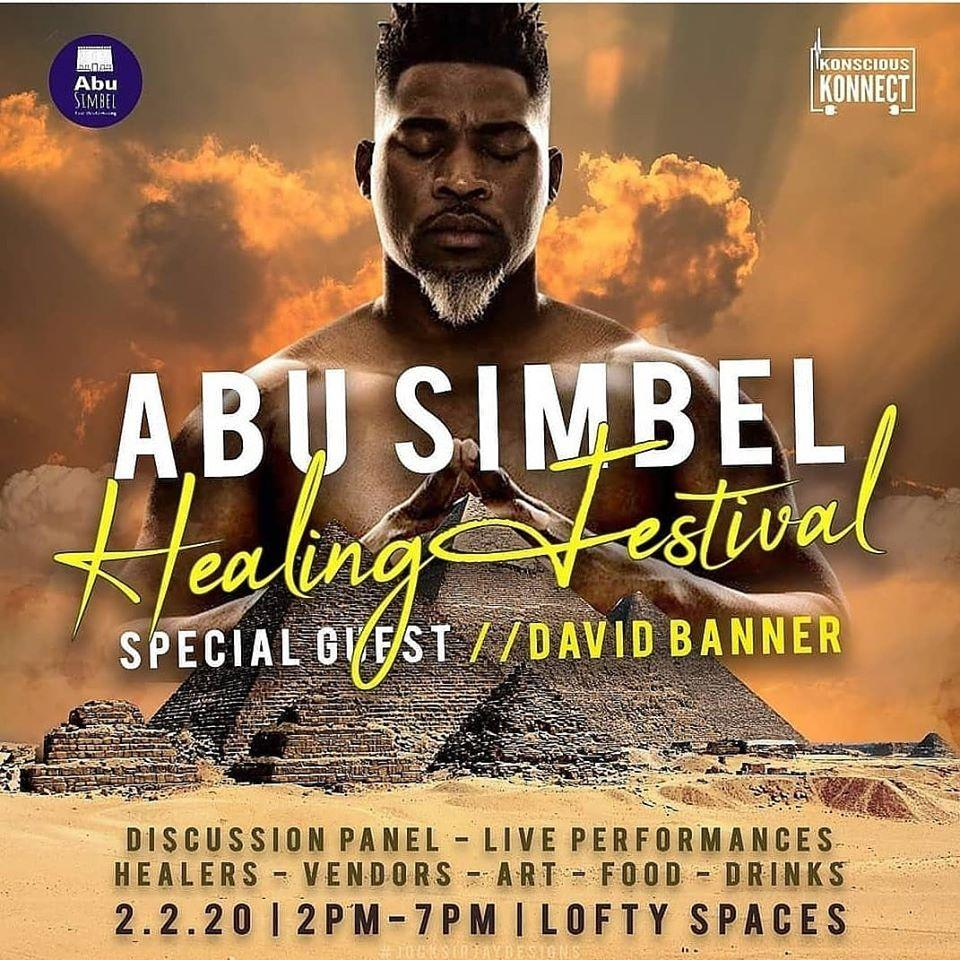 David Banner Speaks Abu Simbel Healing Festival