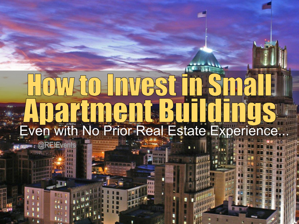 Investing on Small Apartment Buildings in Newark NJ