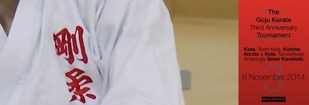 Goju Karate Third Anniversary Tournament
