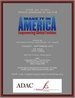 Make it in America- Empowering Global Fashion Private...