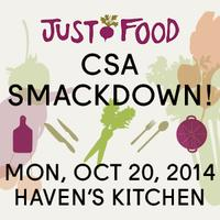 CSA Smackdown 2014: Benefitting Just Food