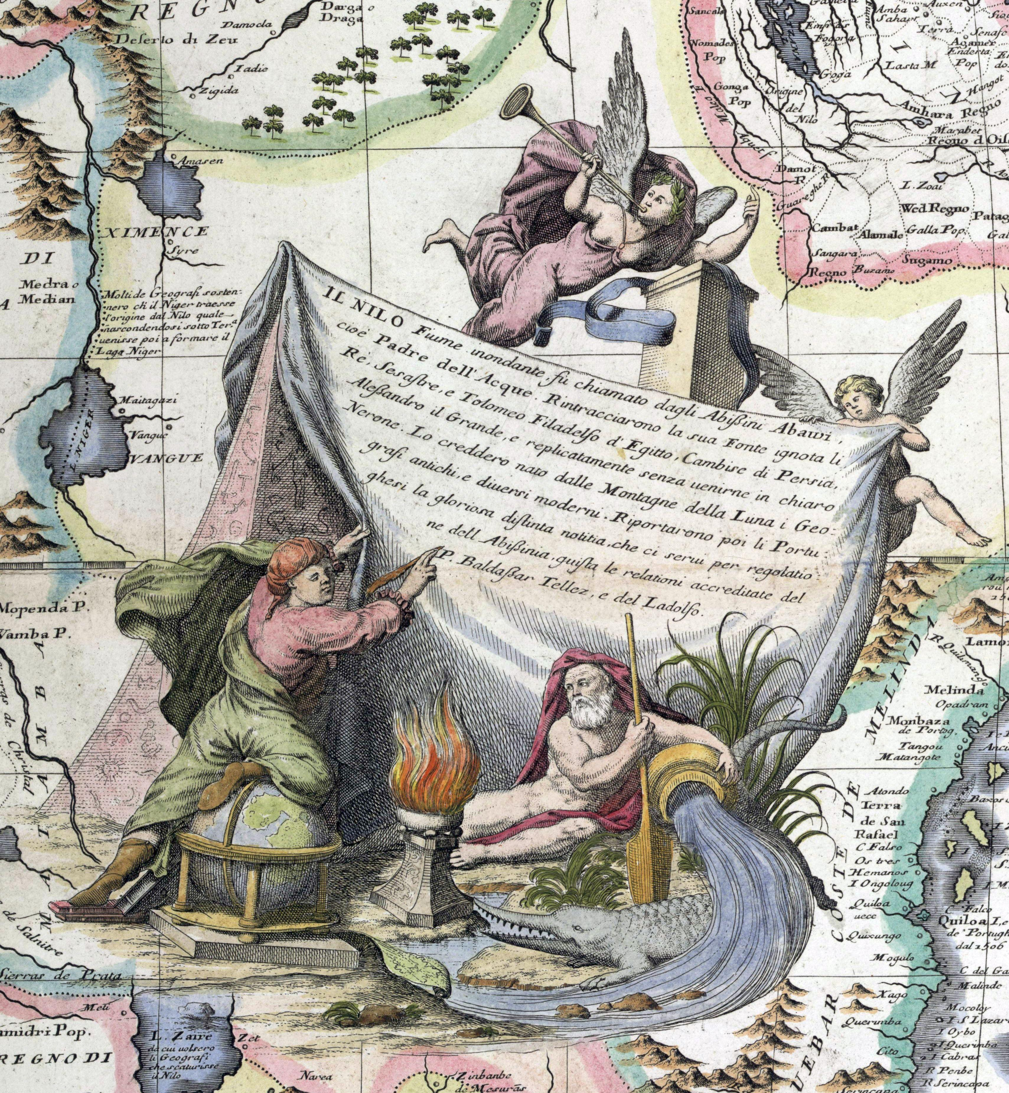 Frames that Speak: An Introduction to Cartographic Cartouches