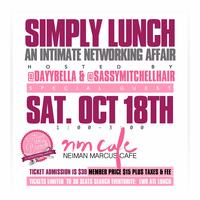 #LWBATL Presents: 'Simply Lunch' An Intimate...