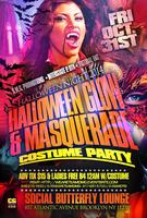 "Friday October 31st ""Halloween Glow & Masquerade..."