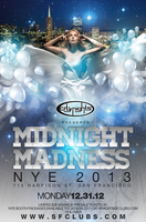 CITY NIGHTS  PRESENTS   MIDNIGHT MADNESS - NYE 2013