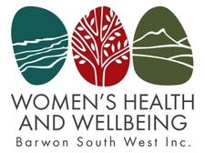 Women's Health and Wellbeing Barwon South West  logo