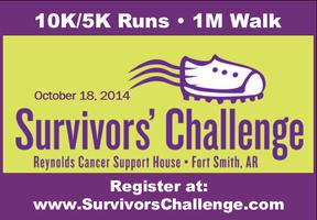 2014 Survivors' Challenge 10K Arkansas Grand Prix...