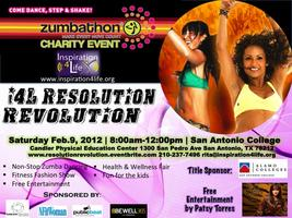 Resolution Revolution ZUMBATHON! Zumba for Charity!