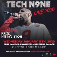 Tech N9ne Tour 2020.Tech N9ne