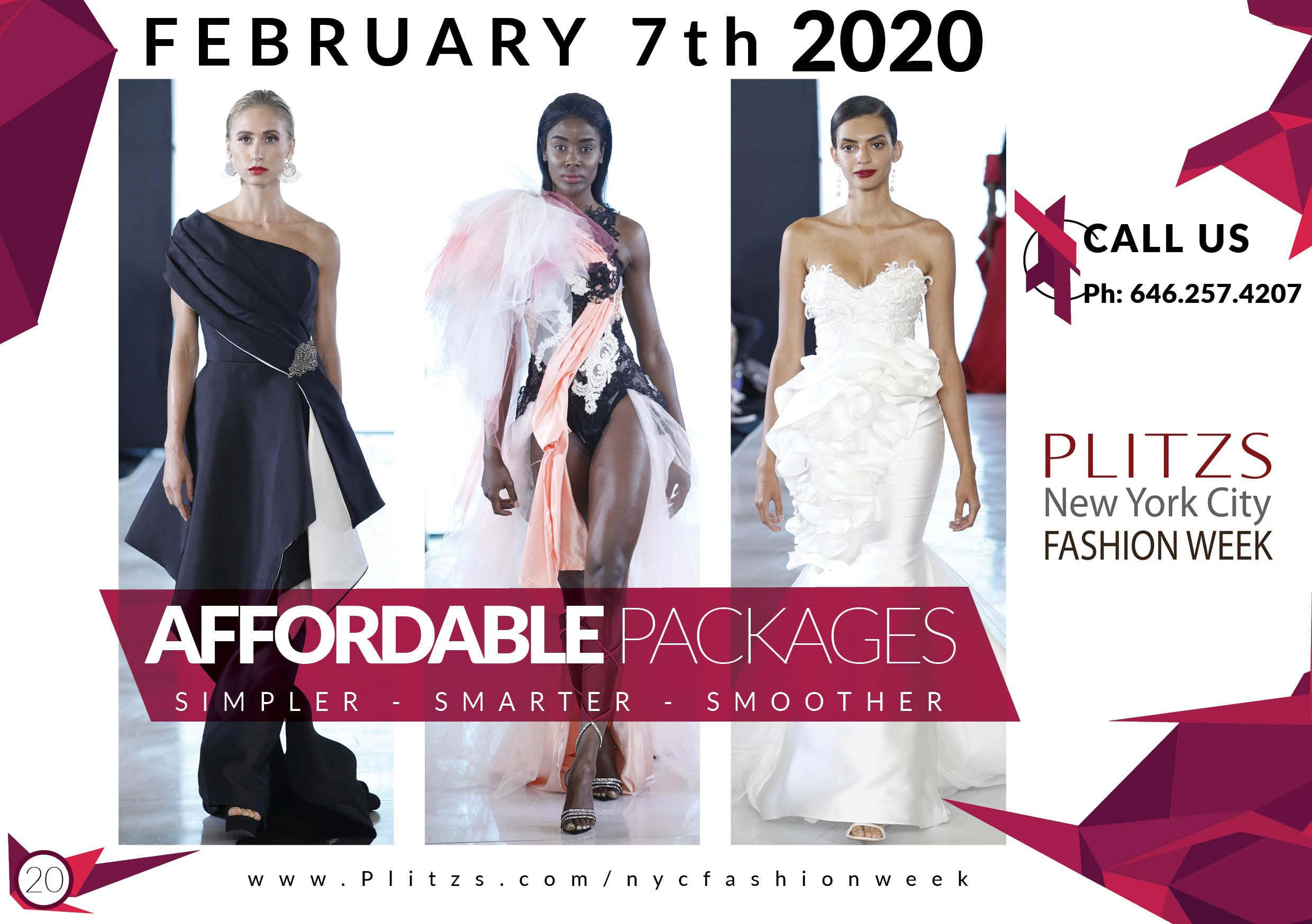 Registration Sign Up Fashion Designers Fashion Brands Plitzs New York City Fashion Week Show February September 7 Feb 2020