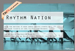 TiltFit: Rhythm Nation 6 class series (Starts Oct. 7th)