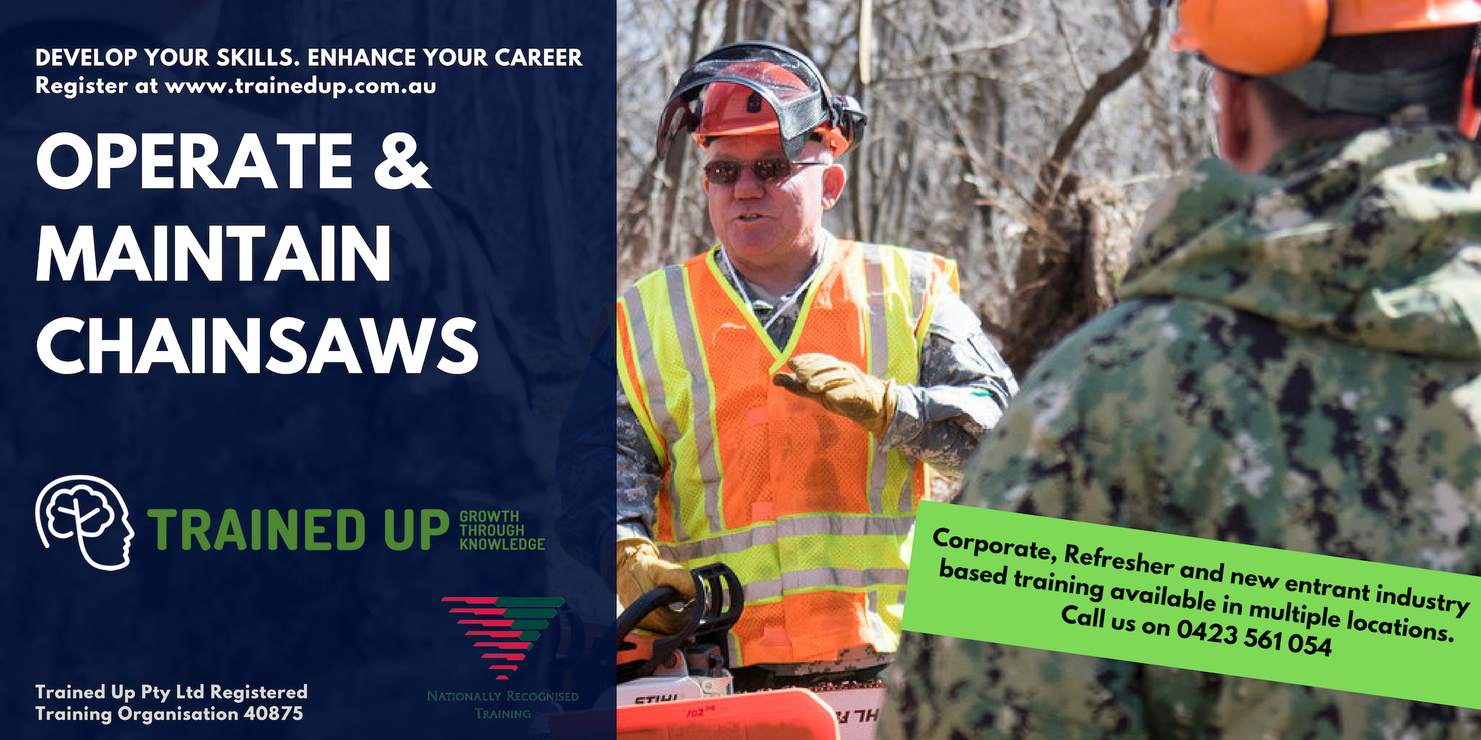 Operate Maintain Chainsaws | Master safety, cutting technique, maintenance
