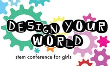 Design Your World - STEM Conference for Girls logo