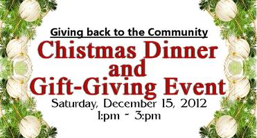 Christmas Dinner and Gift-Giving Event
